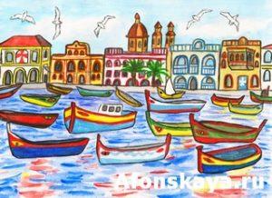 Malta, painting