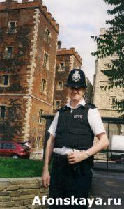 Англия, полицейский