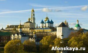 Trinity-Sergey lavra monastery, Russia