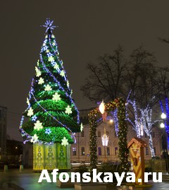 Moscow, Christmas tree