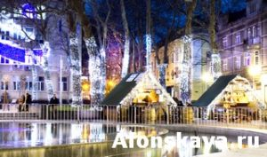Christmas market in Varna