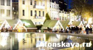 Christmas market in Varna