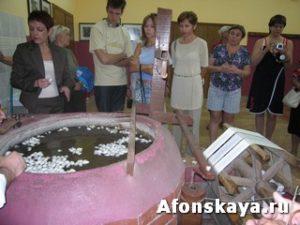 Турция производство шёлка
