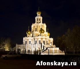 Москва церковь Покрова Богородицы в Филях
