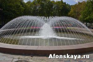 Москва фонтан Пушкинская площадь