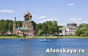 Москва усадьба Останкино церковь Святой Троицы