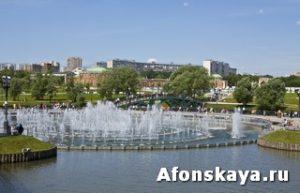 Москва Царицыно фонтан