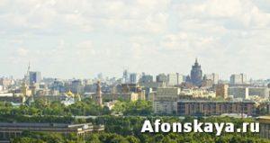 Москва Воробьёвы горы