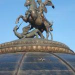 москва памятник святому георгию