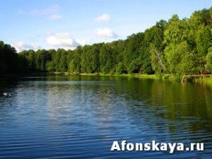 Москва Измайловский парк Красный пруд