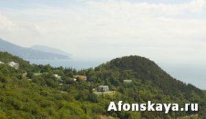 пейзаж Крыма Ливадия
