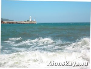 Ялта Крым маяк