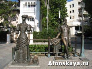 Ялта Крым памятник Чехову