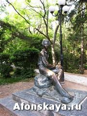 Памятник Пушкину Гурзуф Крым