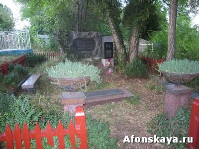 Старый Крым могила Друниной и Каплера