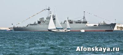 Военно-морской парад в Севастополе