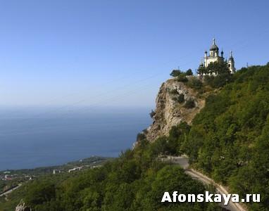 Крым церковь Вознесения в Форосе