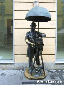 памятник фотографу, Санкт-Петербург