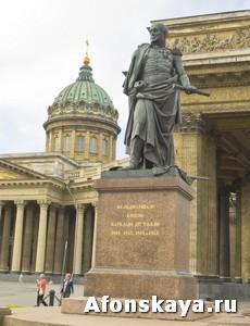 памятник Барклаю-де-Толли, Санкт-Петербург