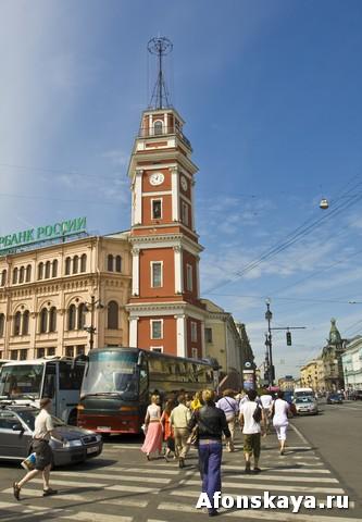 Санкт-Петербург, Невский проспект, здание городского совета