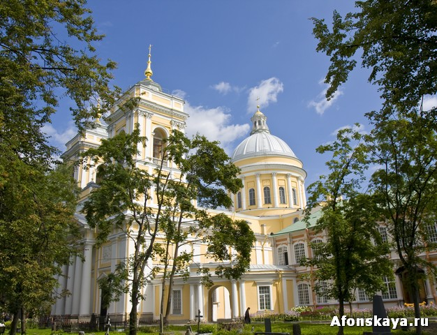 Свято-Троицкая Александро-Невская лавра, Санкт-Петербург