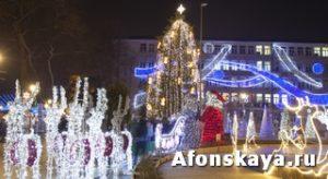 Рождество Новый год Варна Болгария