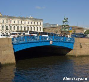 Петербург Синий мост