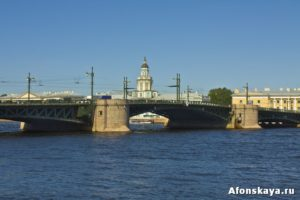 Петербург Дворцовый мост