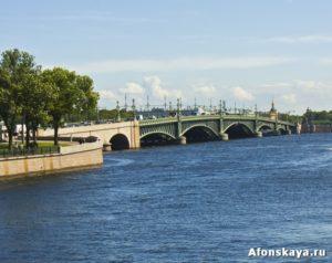 Петербург Троицкий мост