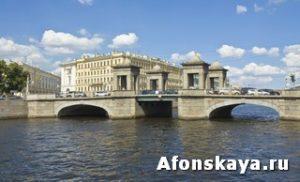 Петербург мост Ломоносова