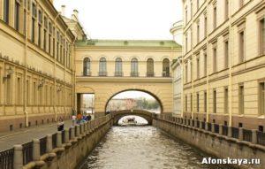 Петербург Эрмитажный мост