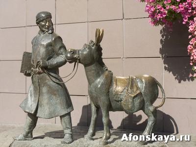 Москва памятник ходже Нассредину