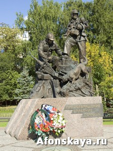 памятник спасателям мчс Москва