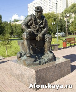 памятник спасателю мчс москва
