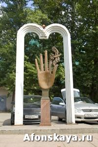 памятник птица счастья Москва