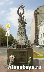 памятник детям погибшим во время теракта в Беслане Москва