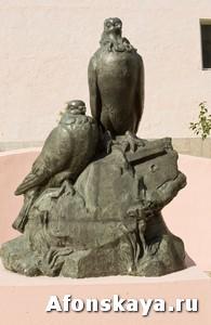 памятник голубям Москва