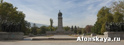 София, Болгария, памятник Советской армии