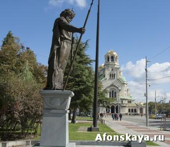 София, Болгария, памятник царю Самуилу