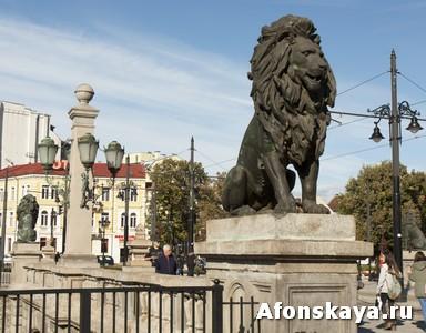 София, Болгария, Львиный мост