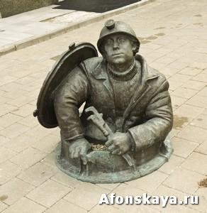 памятник сантехнику (водопроводчику) Москва