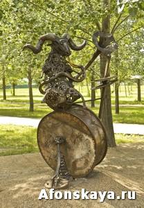 памятник знаки зодиака Москва