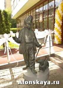 памятник карандашу и кляксе москва