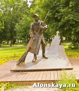 памятник дворнику москва