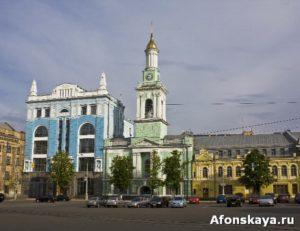 киев подол контрактовая площадь ратуша