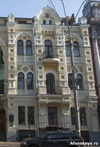 киев владимирская 43 дом где жил вертинский