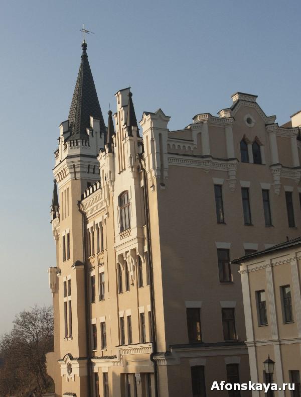замок короля ричарда львиное сердце киев