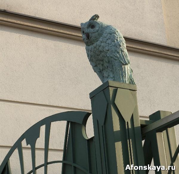 андреевский спуск киев скульптура сова