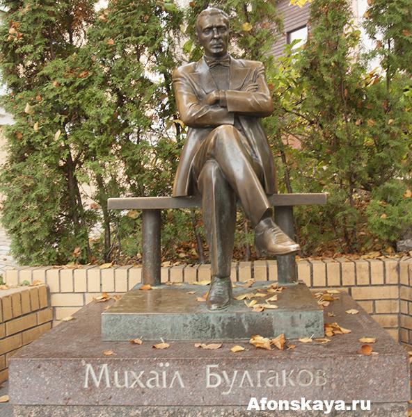 памятник михаилу булгакову