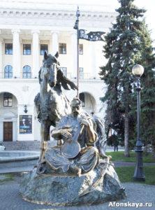 памятник казаку мамаю киев